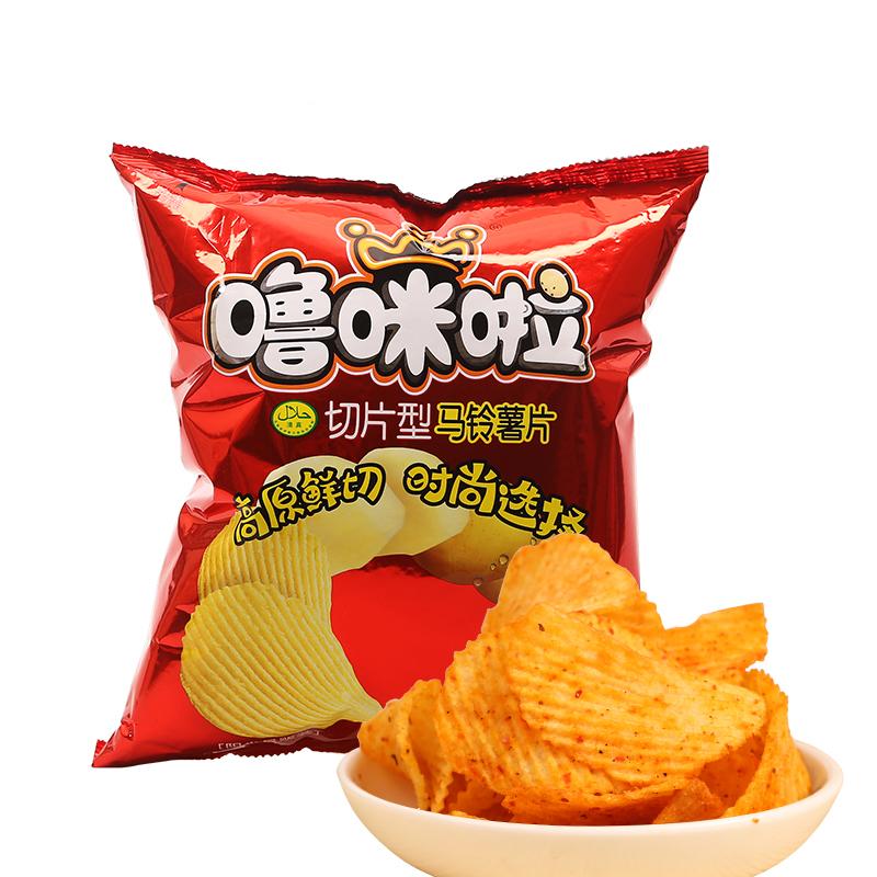嚕咪啦椒麻辣味薯片108g