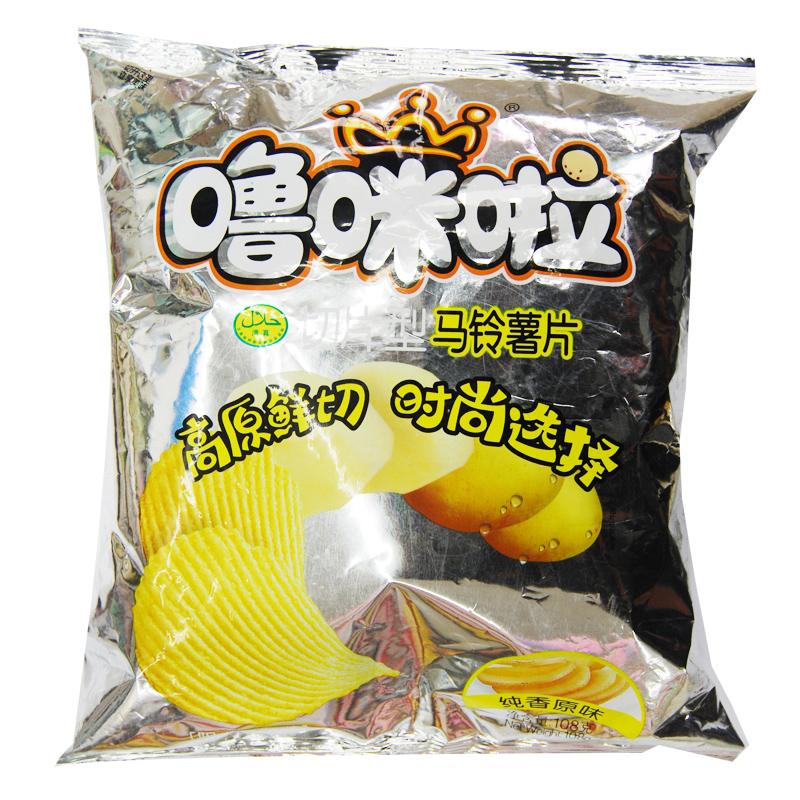 【嚕咪啦】原味口味薯片108g