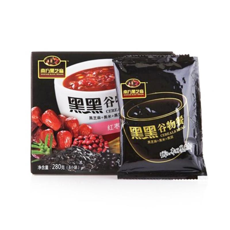 南方黑芝麻糊红枣红豆谷物餐280g