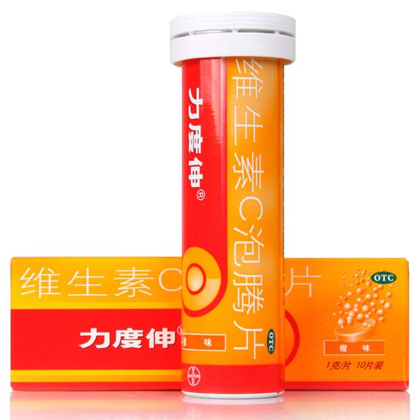 【力度伸】 维生素C泡腾片 (10片装)