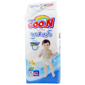 寶寶惠 · 【大王GOO.N】嬰幼兒用紙尿褲XL號42片(吉2)