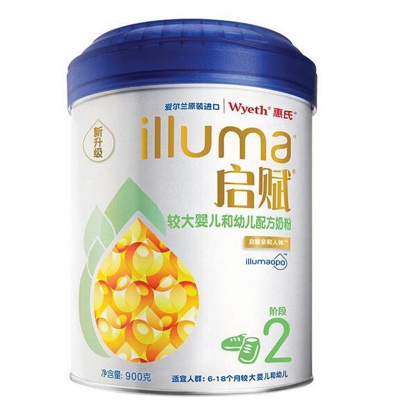 寶寶惠 · 惠氏啟賦較大嬰兒配方奶粉(6-12個月)2段900g