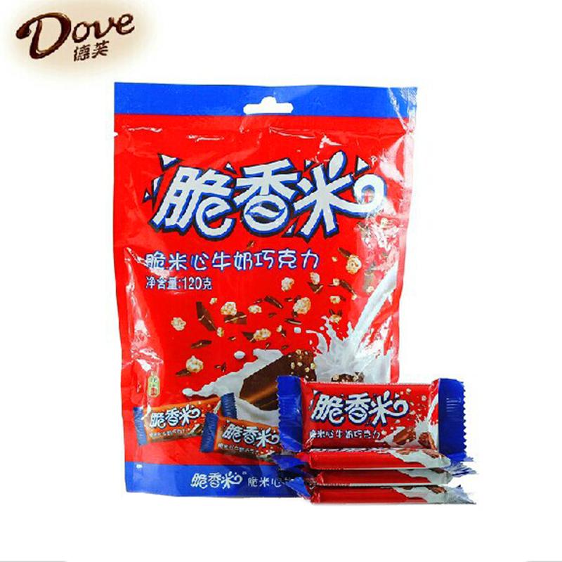 德芙脆香米巧克力120g