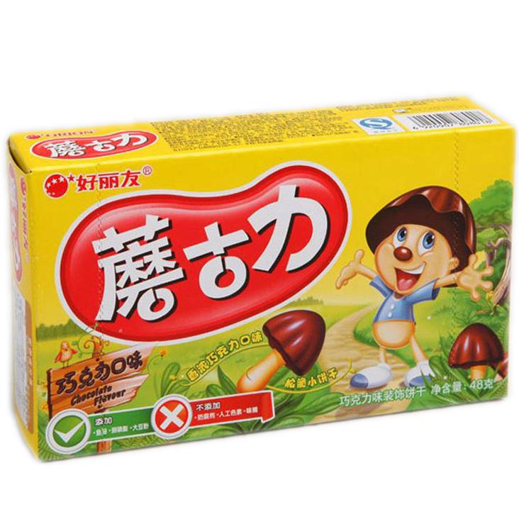 【好麗友】蘑菇力48g
