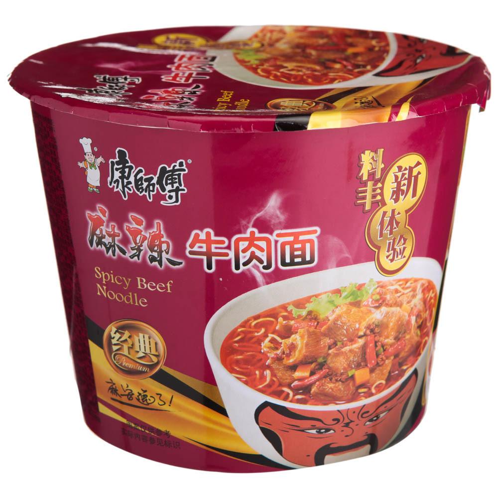 好食汇 ·【康师傅】麻辣牛肉桶面 115g