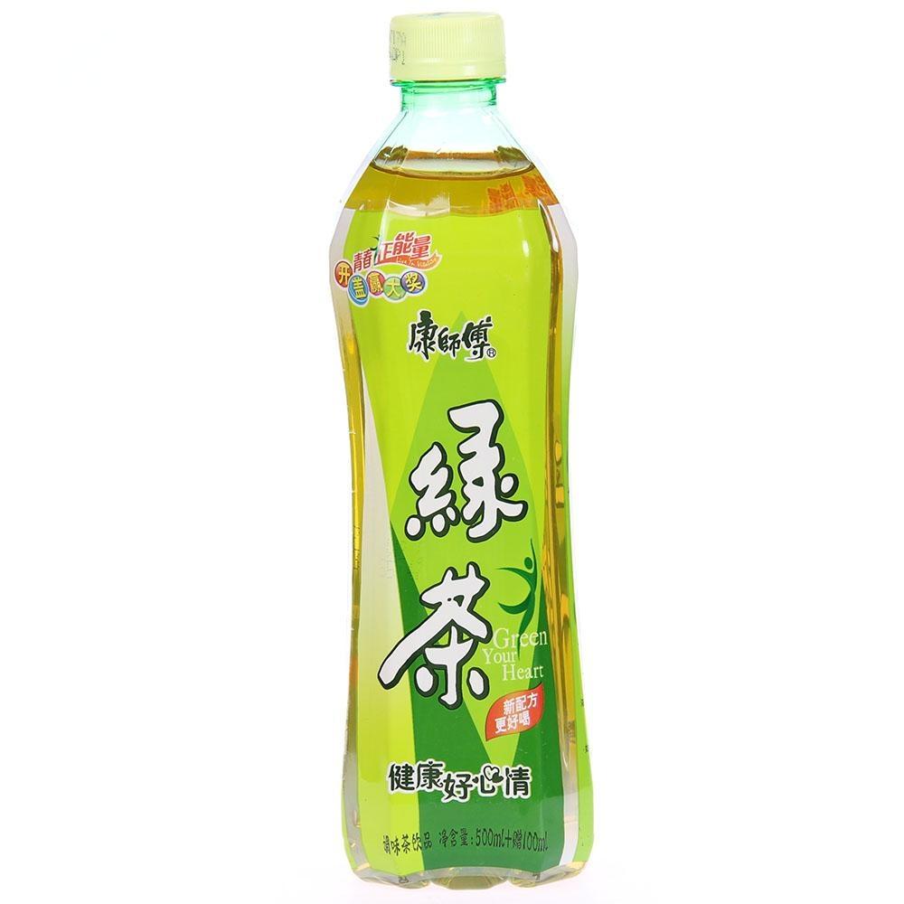 康師傅綠茶500ml+50ml/500ml