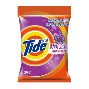 【汰渍】洁净薰香薰衣草香氛洗衣粉(3千克)