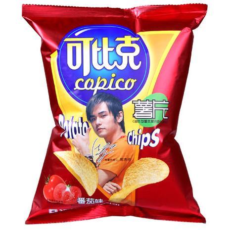 【達利園】可比克番茄薯片60g