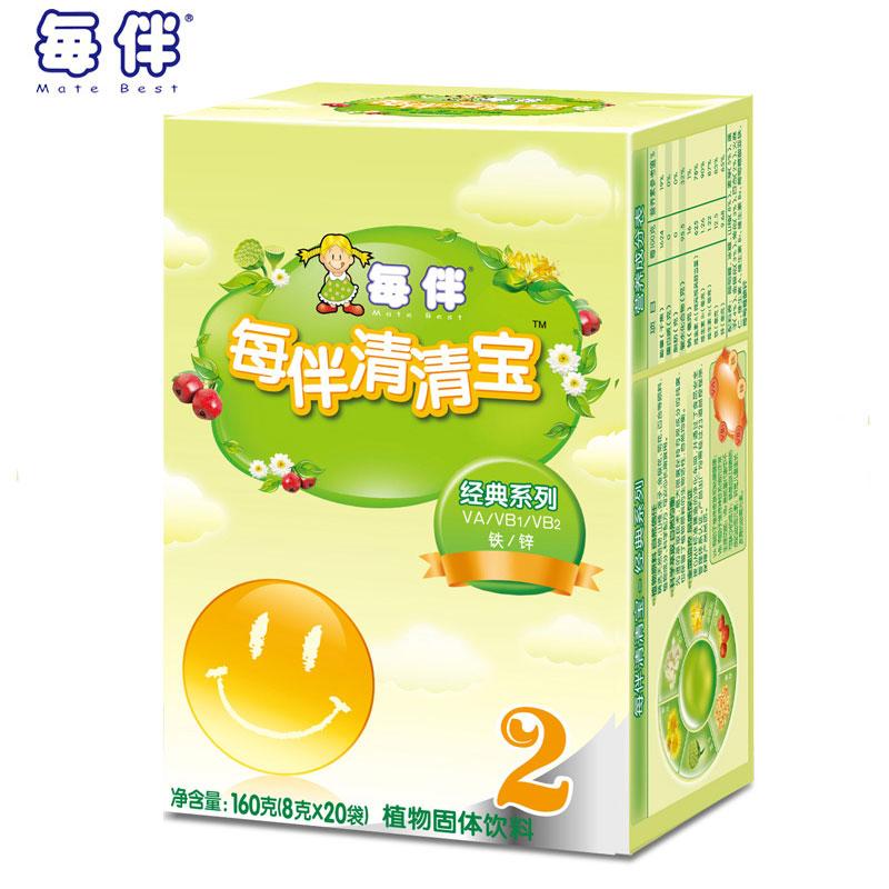 輔食惠 · 每伴經典原味盒2段8g*20包(統)