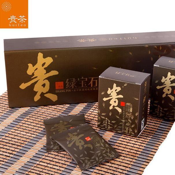 【绿宝石】绿茶尚品条装(统)3g*7袋*5盒/条