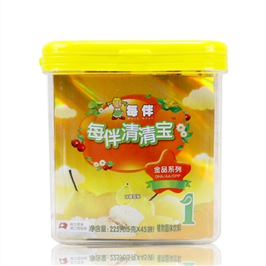 每伴金品冰糖雪梨小罐1段5g*45条(统)