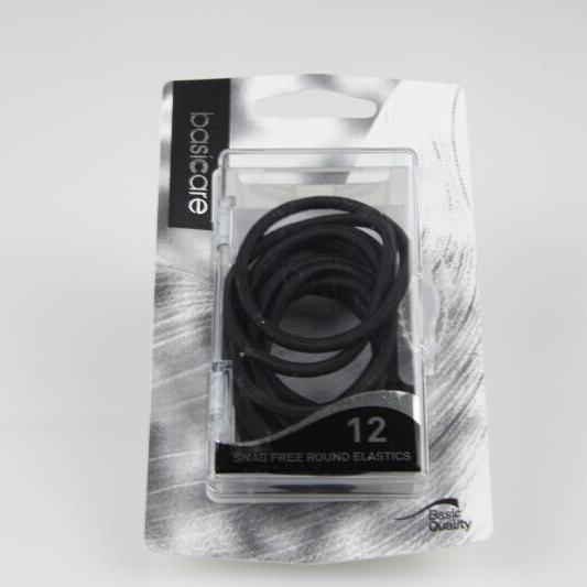 【贝西凯尔】黑色圆形橡皮筋12根入(3345)