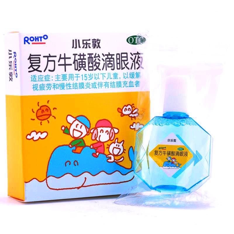 【小乐敦】 复方牛磺酸滴眼液 (13毫升装 儿童型)RX