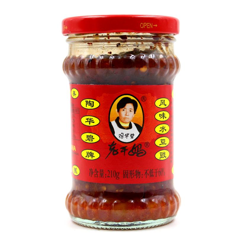【老干媽】風味水豆豉 (210g)