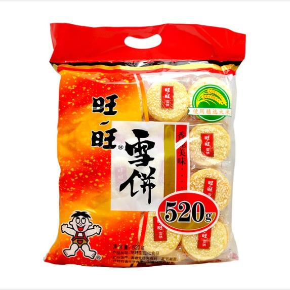 旺旺雪饼  520g