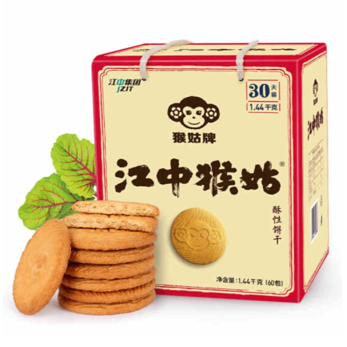 江中猴菇酥性饼干