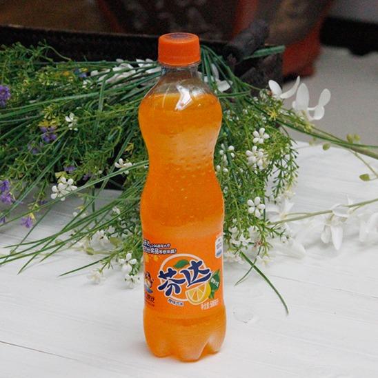 可口可樂芬達.橙味500ml