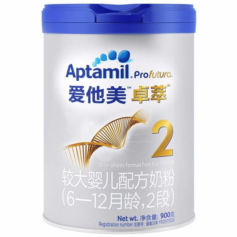 寶寶惠 · 愛他美卓萃較大嬰兒配方奶粉2段(6-12月齡)900g