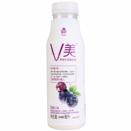 新希望V美果蔬乳酸菌飲品藍莓味300ml