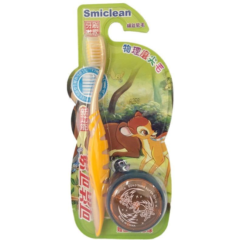 可洁可净新功能物理磨尖毛儿童牙刷K324(统)