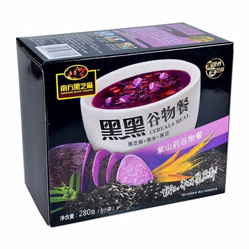 好食汇 ·【南方】黑芝麻糊紫山药谷物餐280g