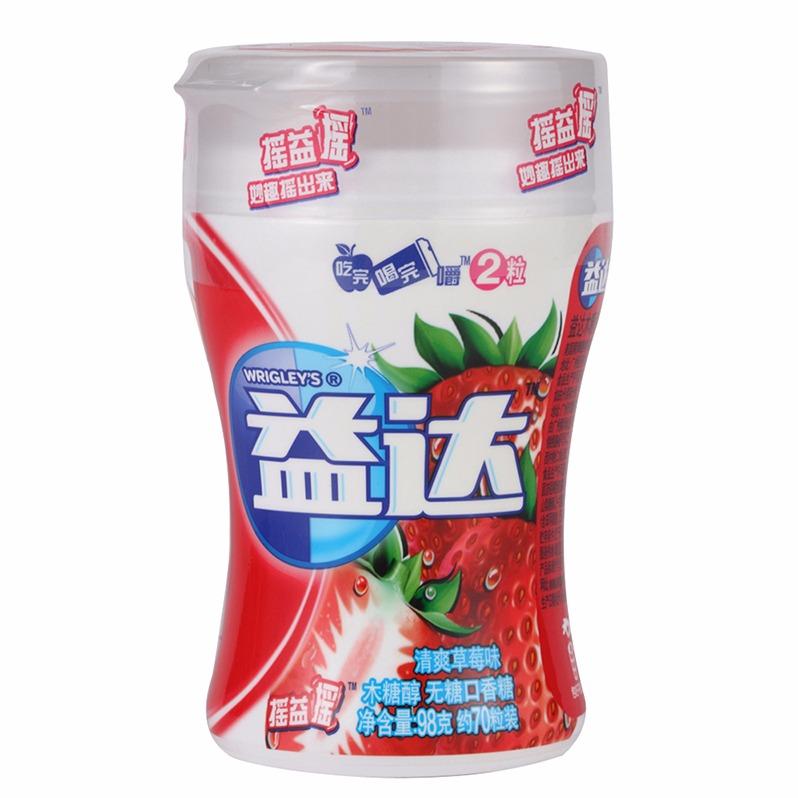 【益達】益達40粒木糖醇熱帶炫果味