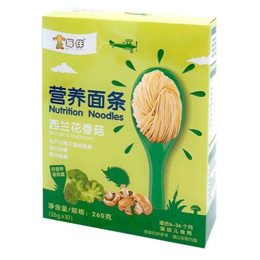 輔食惠 · 每伴西蘭花香菇營養面條260g