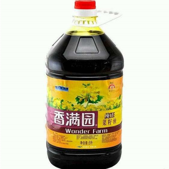 香满园纯正菜籽油  5L