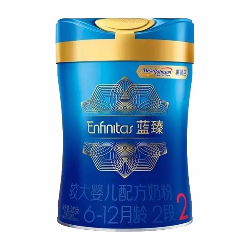 宝宝惠 · 美赞臣蓝臻较大婴儿配方奶粉2段(6-12个月)900g(吉2)(母婴专场)