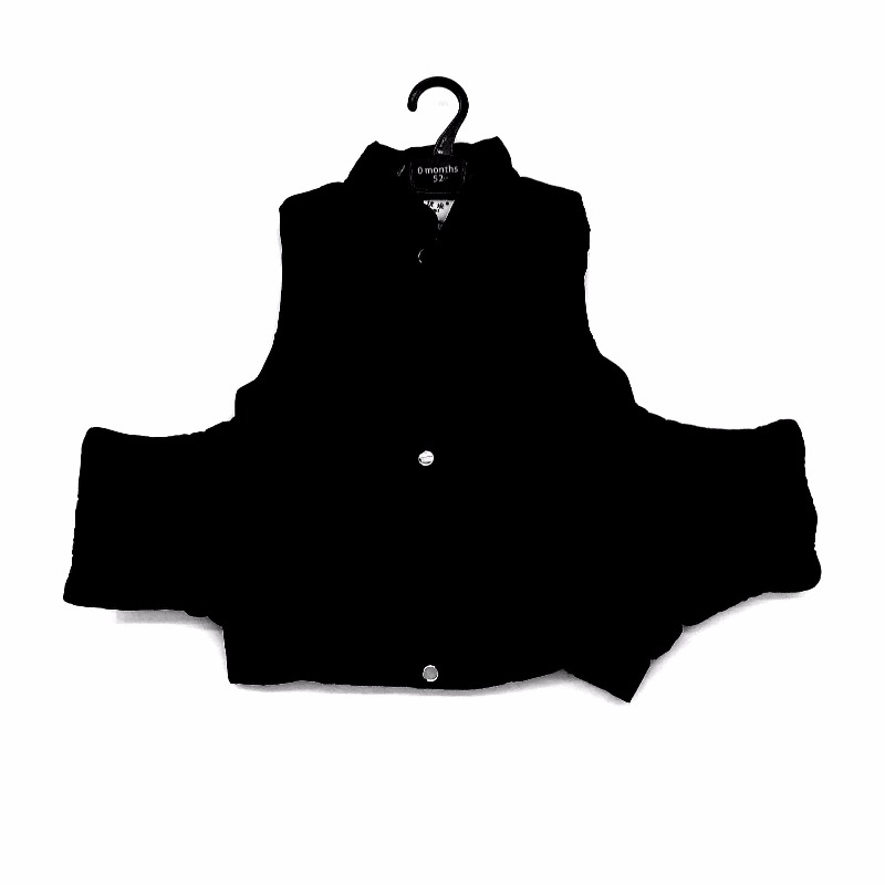 【熙優米】 棉衣馬甲   型號:90/48   黑色(28411392)