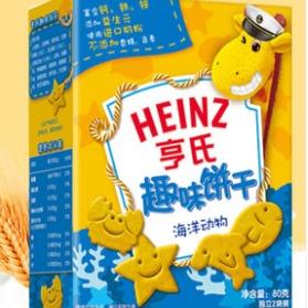 輔食惠 · 亨氏趣味餅干-海洋系列80g