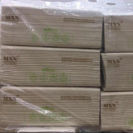 太阳谷 天然纯竹纤维本色纸 180*160mm 400张(6连包/提)