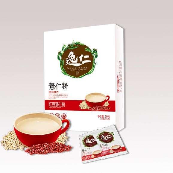 贵州·黔西南(兴义·兴仁)【金州特产】红豆薏米粉  500g  熟燕麦粥原味粉早餐粉   去湿,美容养颜,养生、养胃好选择