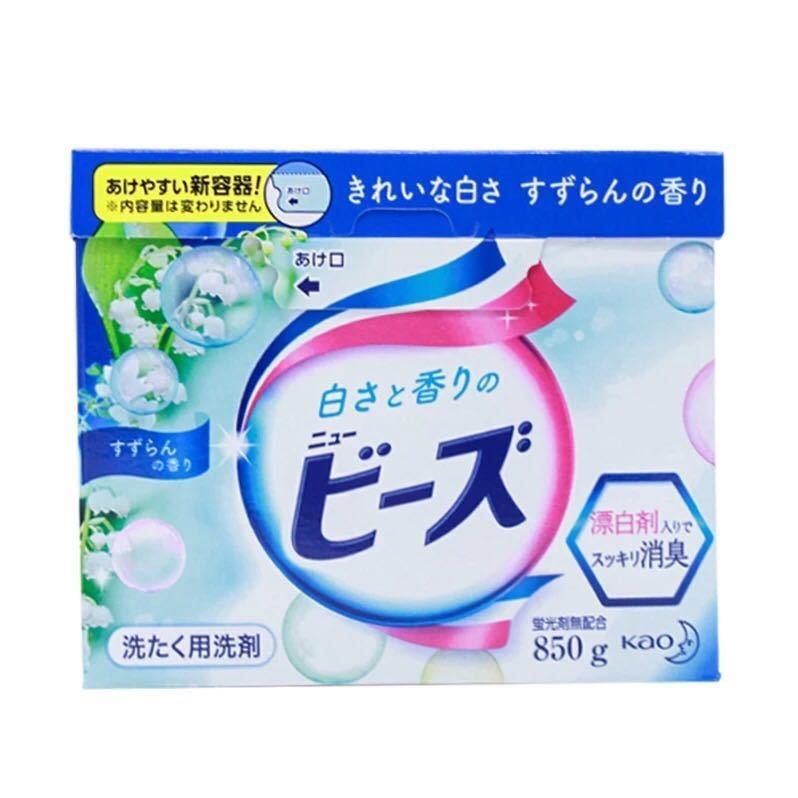 全球購.花王(KAO)馨香洗衣粉 (淡雅鈴蘭香)日本原裝進口 800g