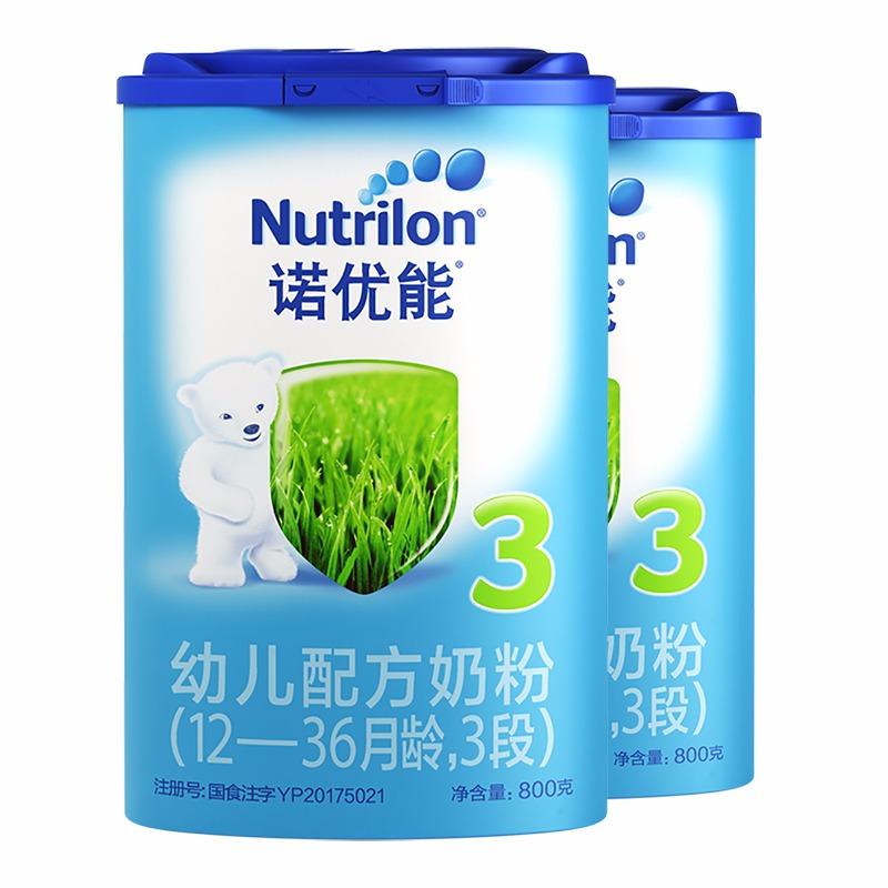 寶寶惠 · 【牛欄】諾優能幼兒奶粉3段(12-36個月)800g(吉2)