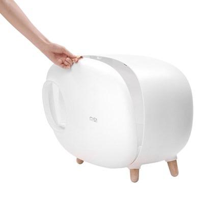 盖亚-全球购.麻薯团子猫砂盆 白色款【Gaia 盖亚跨境购】