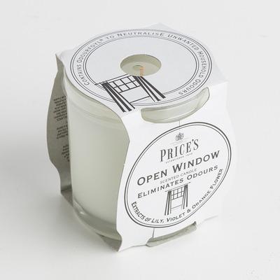 英國Price's玻璃香薰蠟燭香氛燭臺柑橘百合香味  83mm X 74 mm