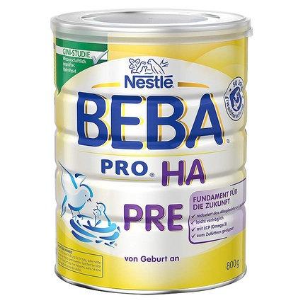 蓋亞-保稅區直發 德國Nestlé雀巢BEBA貝巴適度水解奶粉Pre段(0-6個月)800g【Gaia 蓋亞跨境購】