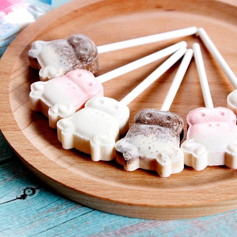埃雅 無蔗糖棒棒糖 牛乳奶棒糖 128G*3袋