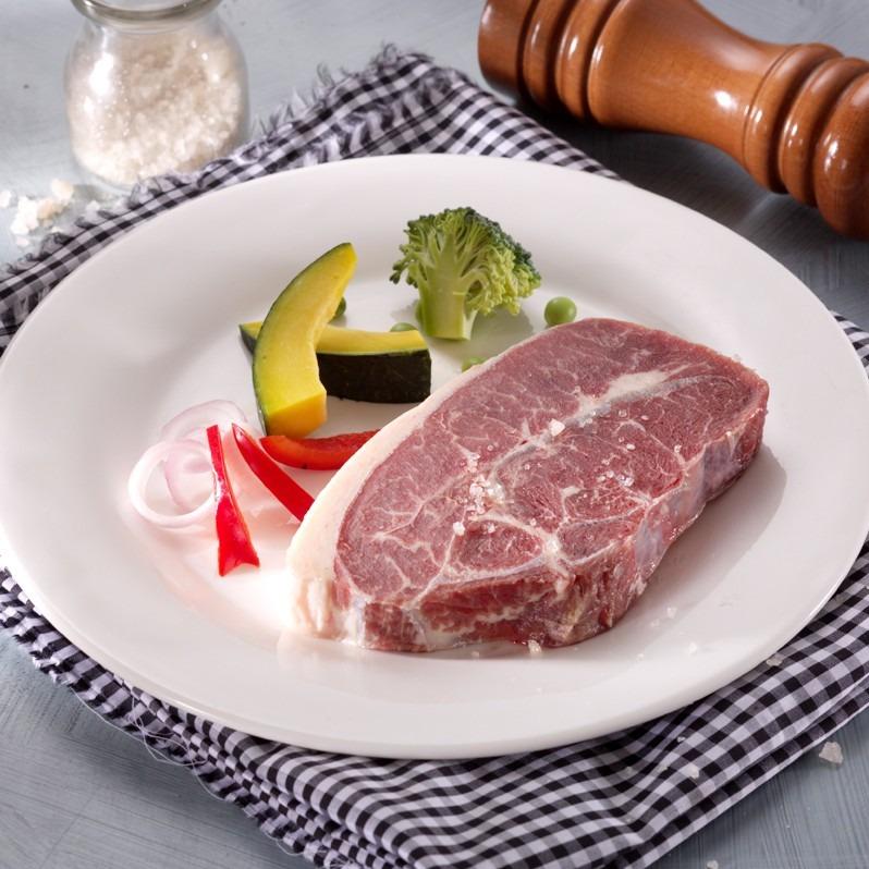 民生惠 · 赤豪 整切M級牛排10片 整切西冷100G*5片+整切沙朗100G*5片 送醬包minsheng