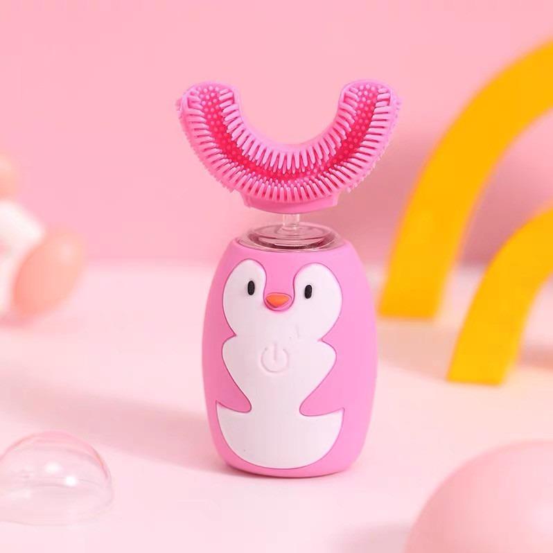 智慧生活.民生惠 · ASHMORE/艾詩摩爾 兒童潔牙儀電動牙刷 顏色隨機發minsheng