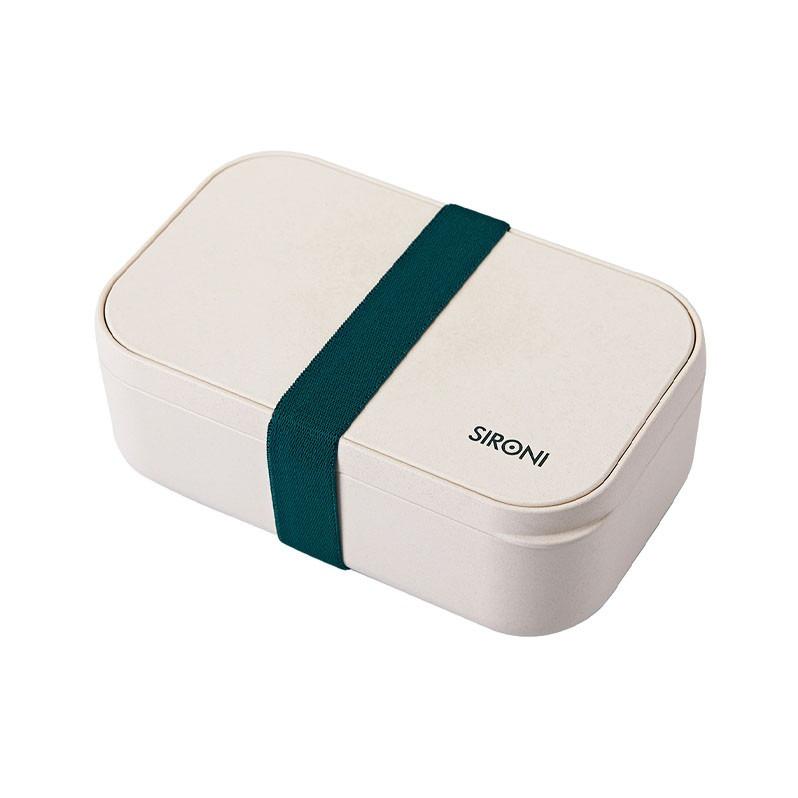 民生惠 · SIRONI 竹纤维食品级可降解便当盒(含餐具)