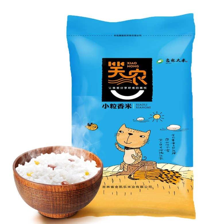 民生惠 ·笑農 東北小圓粒米小粒香米 10KG