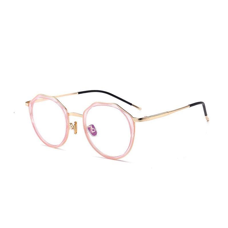 民生惠 ·LJGOOD/骊佳 防蓝光护目镜多边形眼镜可配近视1804 粉色框