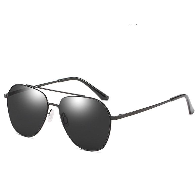 民生惠 ·LJGOOD/驪佳 2020新款男女防紫外線太陽鏡8178 黑框黑灰片