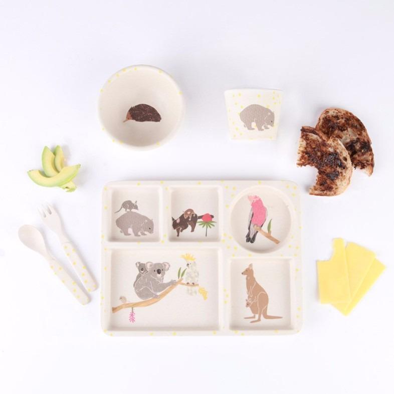 民生惠 ·LOVE MAE 澳洲特色小动物餐具5件套  MAE-YD008
