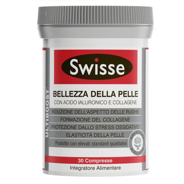 SWISSE 膠原蛋白加透明質酸片