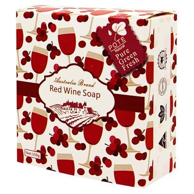 【星典專業洗護】柏緹   紅酒香皂(送絲綿起泡袋)  150g   手工香皂洗臉潔面沐浴洗澡肥皂