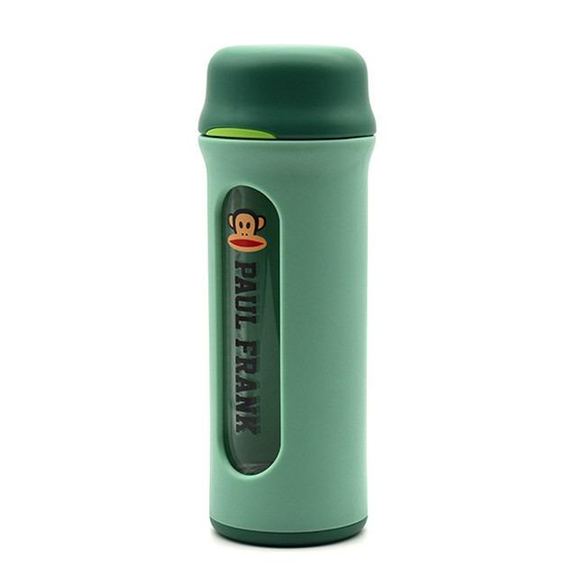 美國 大嘴猴Paul frank玻璃杯綠色290ml【Gaia 蓋亞跨境購】