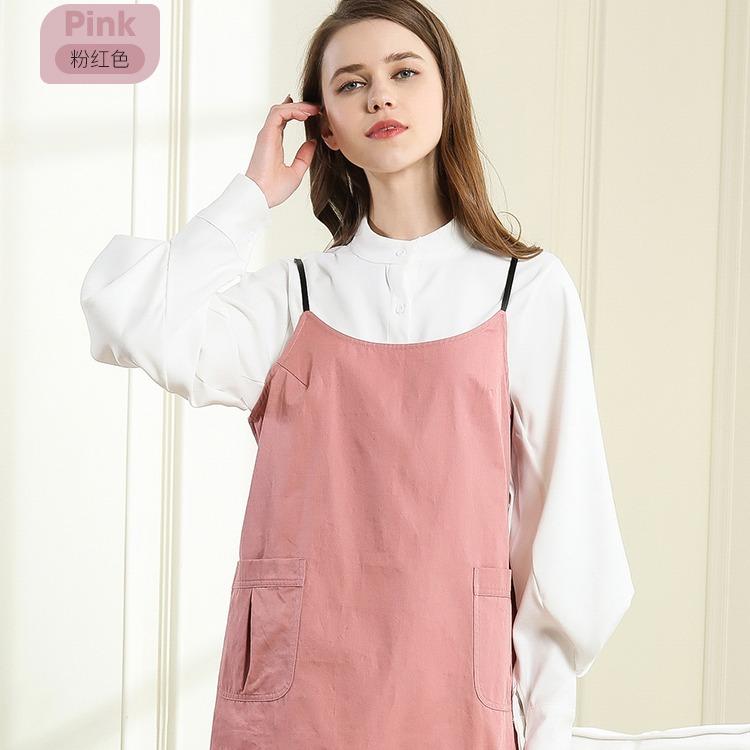 婧麒防輻射服孕婦裝衣服女專利面料懷孕期吊帶XL
